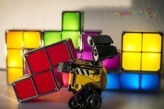 Wall-E playing Tetris