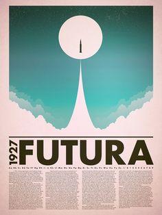 Futura Type Specimen & Poster — DARNELL WATTS DESIGN