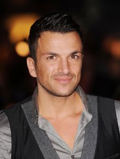 Peter Andre  ... I just love him to bits!