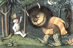 Where the Wild Things Are author's Maurice Sendak passed away yesterday. Thank you, Maurice for your writing and your beautiful illustrations