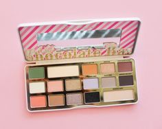 Too Faced White Chocolate Bar Palette Promises a Pastel Holiday Season