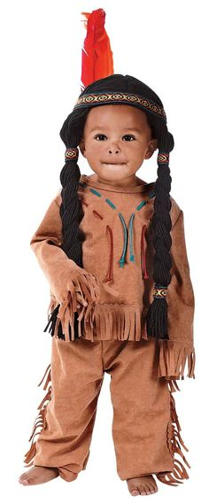 Kids Indian Boy Costume - Native American Indian Costumes