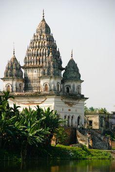 shiva temple, puthia, bangladesh #hindu