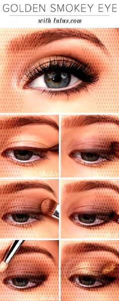 12 Awesome Smokey Eyes Tutorials {The Weekly Round Up - -You can find Makeup tricks and more on our Awesome Smokey Eyes Tutorials {The Weekly Round Up - - Eyeshadow Tutorial For Beginners, Smokey Eye Tutorial, Eyeshadow Tutorials, Makeup Tutorials, Smokey Eyes, Smokey Eye Makeup, How To Do Makeup, Makeup Tips, Pintura