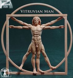 Vitruvian Man, Joaquin Palacios on ArtStation at https://www.artstation.com/artwork/nd9AX
