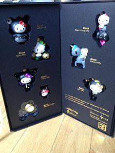 Hello Kitty, tokidoki, 7Eleven black edition :)