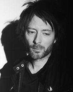 Thom Yorke from Radiohead (I love his hair...)  :)