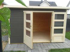 Gartenhaus Klein modernes pultdach gartenhaus pori klein aber sehr schick