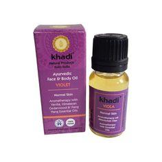 El Aceite de Violeta Khadi está indicado para pieles normales y mixtas. Hidrata, refresca y evita el envejecimiento cutáneo gracias a su gran cantidad de principios bio activos; sándalo blanco, violeta, ylang ylang y vainilla, entre otros. Certificación Orgánica BDIH