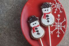 Cookies 'N Cream Snowman Pops - Healthy. Delicious.