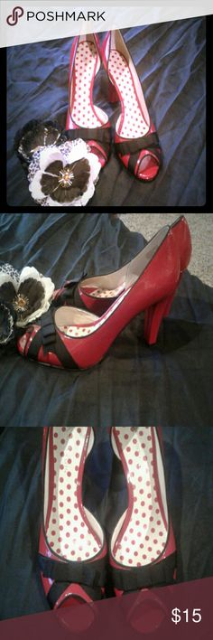 Shoes I am RePoshing these beautiful, classy, red heels by Anne Klein. They are too big for me...clean & in very nice condition. I never did wear them. These stunning heels need a night out on the town 😊 Anne Klein Shoes Heels