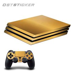 30% off OSTSTICKER Gold Vinyl Skin Sticker For Playstation 4 Pro for Sony PS4 Pro Console and Controllers Skins Decal. Yesterday's price: US $12.88 (11.13 EUR). Today's price: US $10.30 (8.93 EUR). Discount: 20%.