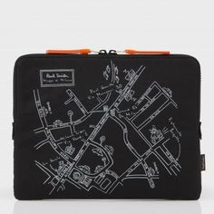 Paul Smith Bags - Map of Milan Print iPad Case