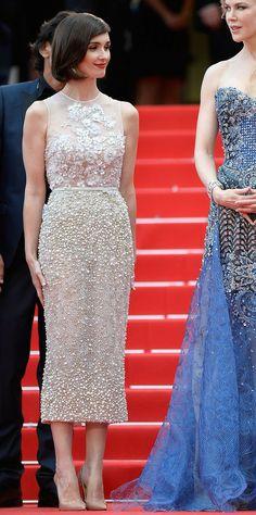 Paz Vega in Elie Saab Couture #Cannes2014