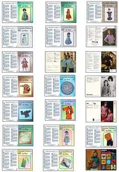 imprimibles de costura - Alejandra Vera - Picasa Web Albums (includes quilting g books)