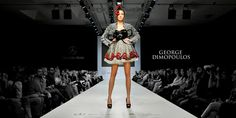GEORGE DIMOPOULOS PHOTOGRAPHY for Awarded Designer MARIA TAGALOU feat. Model CHRISTINE SIDERA at th