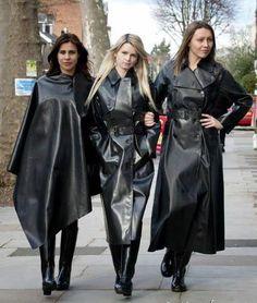 Happy PVC Raincoat Girls
