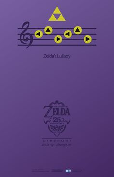 This Legend of Zelda Symphony event poster was made by Brendan Goggins (Full Sail Digital Arts & Design, 2012 graduate).
