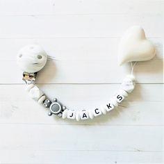 Schnullerkette mit Namen+Schnuller SET♥JUNGE♥Mickey Maus♥Baby Geschenk blau grau