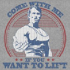 Arnold Schwarzenegger Gym Come With Me If You Want To Lift training