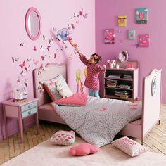 Kids room   pink - butterfly