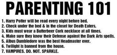 Harry Potter parenting They forgot to read your kids the tales of beetles the bard.///// me as a parent Harry Potter Parents, Harry Potter Items, Harry Potter Actors, Slytherin, Hogwarts, Parenting Done Right, Parenting 101, Albus Dumbledore, Severus Snape