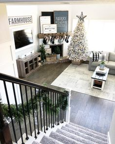 "2,256 Likes, 64 Comments - holly | our faux farmhouse (@ourfauxfarmhouse) on Instagram: ""Can't wait to see those excited little faces run down the stairs (at the butt crack of dawn) on…"""