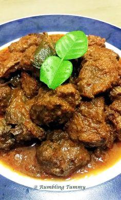 Beef Rendang (Padang Style)