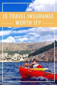 Find out if travel insurance is worth the price to cover you for unexpected accidents, thefts, or illnesses that could happen along your journey. http://www.littlethingstravel.com