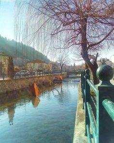Autumn in Florina town, west Macedonia, Greece Macedonia Greece, Places In Greece, Amazing Places, The Good Place, Places To Go, Landscapes, Greek, Autumn, Paisajes