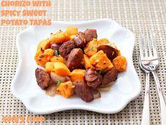 Chorizo and Spicy Sweet Potato Tapas