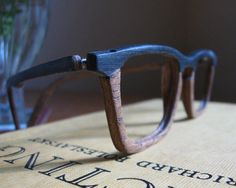 The Process: Crafting Handmade Wooden Eyeglass Frames » Man Made DIY | Crafts for Men « Keywords: style, men, glasses, eyeglasses