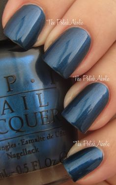 OPI Fall 2012 Germany Collection: Unfor-greata-bly Blue