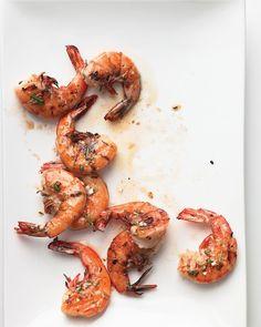 Emeril's Lemon-Herb Grilled Shrimp - kick off the season with these lemony shrimp