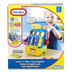 Toy Cash Kids Little Tikes Count N Play Register Gift Christmas Present New