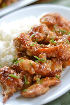 Baked General Tso Chicken