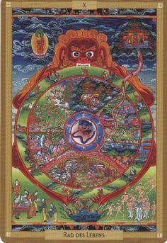 Wheel of Fortune - Tantra Tarot