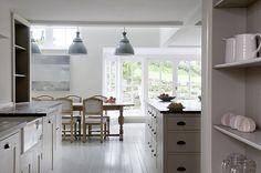 modern cornish kitchen - plain english