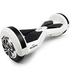 Bluefin Kids' Cobra Self Balancing Scooter, White, 8-Inch
