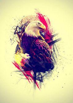Eagle - Graphic Artwork