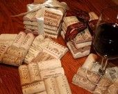Things to do with wine corks.