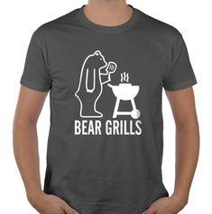 Koszulka BEAR GRILLS GRYLLS tshirt prezent    L