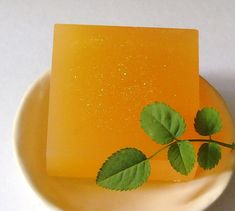 Sparkling Graperfruit Shea Butter and Glycerin Soap. #soap