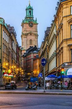 Old Town, Stockholm, Sweden~looks rather like City Hall Philadelphia. Sweden Stockholm, Visit Stockholm, Places Around The World, Travel Around The World, Around The Worlds, Places To Travel, Places To See, Kingdom Of Sweden, Scandinavian Countries
