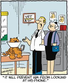 Heathcliff Comic Strip, June 02, 2014 on GoComics.com