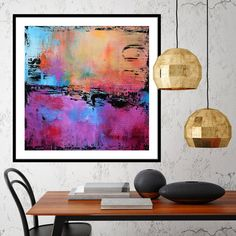 mock up poster frame in hipster interior background, renderin Contemporary Wall Art, Modern Art Prints, Painting Prints, Wall Art Prints, Download Art, Abstract Canvas Art, Abstract Print, Oversized Wall Art, Wall Art For Sale