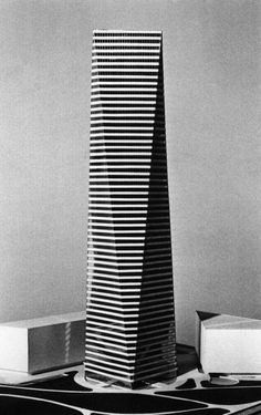 Harry Weese, Project for a Skyscraper, 1981