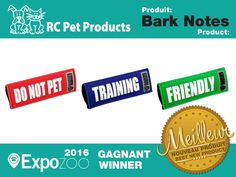 RC Pets has a Do Not Feed bark note that slips over collar (or leash?)