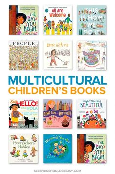 Teach your child about diversity and inclusion with these multicultural children. - Teach your child about diversity and inclusion with these multicultural children's picture books! Kindergarten Books, Preschool Books, Toddler Preschool, Toddler Teacher, Preschool Classroom, Future Classroom, Best Children Books, Toddler Books, Childrens Books