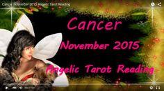 Cancer November 2015 Angelic Tarot Reading